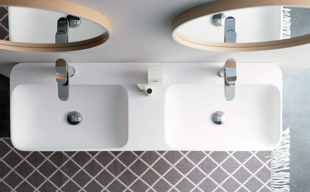 Lavabo con solid surface