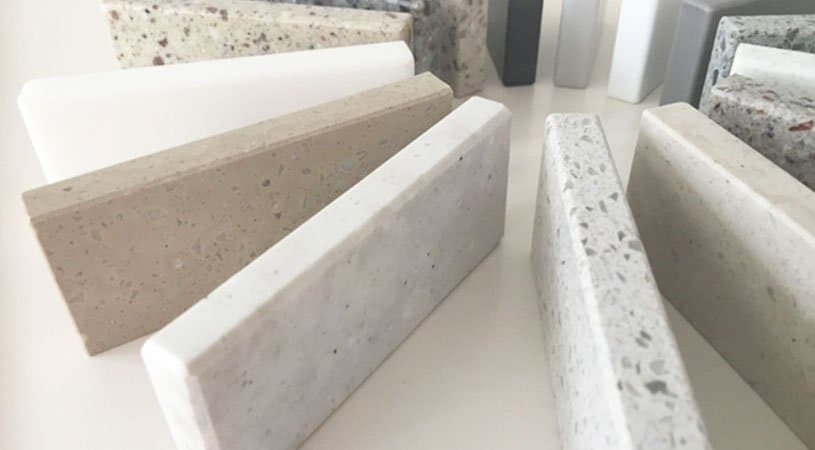 material solid surface lavabos